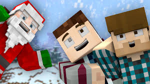 a merry minecraft christmas wallpaper free download