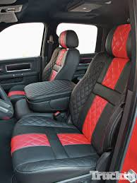 jeep interior seats elegance is only a stitch away custom interior truckin magazine