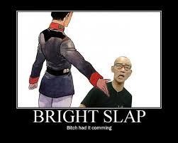 Bright Slap Meme - dream host matthewgates co
