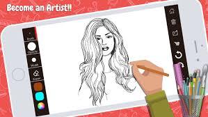 drawing desk doodle paint draw pad sketch book by kajol markana