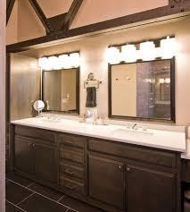 glamorous 10 bathroom lighting over large mirror design ideas of