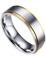 Steel Wedding Rings by Jstyle Stainless Steel Rings For Men Wedding Ring Cool Simple Band