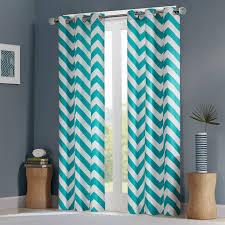 White Chevron Curtains Light Teal Curtains Light Teal Blackout Curtains Walmart Curtains
