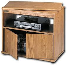 Sauder Tv Stands And Cabinets Sauder Tv Vcr Stand With Swivel Top For 27
