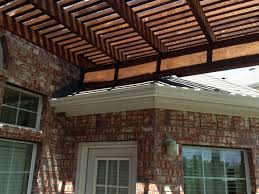 single post backyard arbor pergola in frisco texas hundt patio