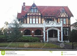 english tudor style mansion in new orleans editorial stock image editorial stock photo download english tudor style