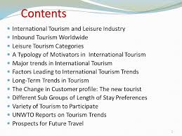 Alabama Travel Trends images New developments trends in international tourism ppt video jpg