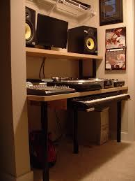 Ikea Recording Studio Desk by Compact Music Studio Ikea Hackers Ikea Hackers
