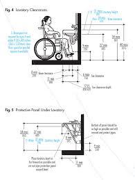 Ada Bathroom Dimensions Ada Guidelines For Five Toilets Or Less Per Restroom Ada Ada