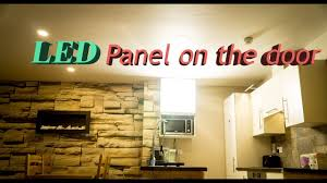 ikea under cabinet led lighting led panel on ikea kitchen cabinet door youtube