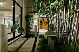 home garden interior design big contemporary house with dark interior filled with light home