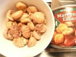 comment cuisiner des marrons comment cuire marron en conserve