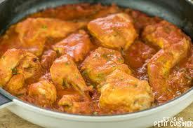 cuisiner le lapin en sauce recette de lapin à la tomate