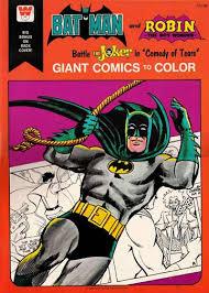 colouring book theatre batman robin