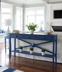 Cottage Sofa Table Low Tide Hall Table Maine Cottage Tables And Sofa Tables Navy