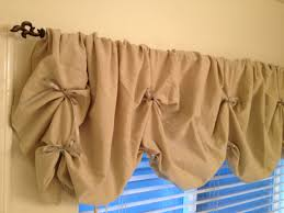 Homemade Curtains Without Sewing Diy Valance No Sew Tutorial