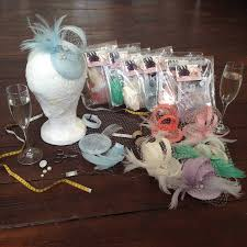 hat making hen party sewing kits by holly young millinery