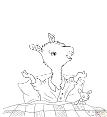llama llama home with mama coloring page free printable coloring