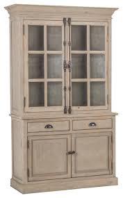 kosas home elodie antique white reclaimed pine 2 door hutch