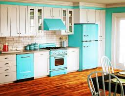 cherry painted kitchen cabinet and glazed of painted kitchen