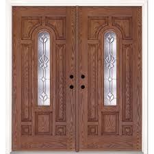 Prehung Double Interior Doors by 4 Panel Front Doors Exterior Doors The Home Depot