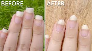 how to file short nails how you can do it at home pictures