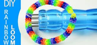 make rainbow bracelet images How to make a rainbow loom bracelet with knitting spool jewelry jpg