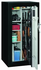 stack on 16 gun double door cabinet best gun safe reviews 2017 handgun biometric large and affordable