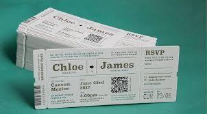 airline ticket invitations u2013 jukebox print support centre