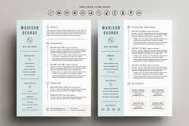 Design Resume Template Free Beautiful 50 Best Minimal Resume Templates Design Graphic Junction
