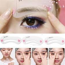 Make Up Classes Online Free Aliexpress Com Buy Free Shipping Magic Eyebrow Stencil Makeup