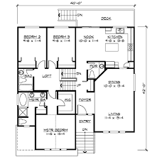 floor plans for split level homes split level home with rec room 23445jd architectural designs