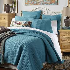 turquoise quilted coverlet weston teal quilt sham pier 1 imports