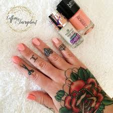 this week u0027s nails coral ombre with catrice ultra stay and