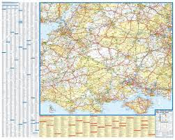 map az hshire dorset wiltshire visitors map a z