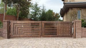 Wrought Iron Driveway Gates Designs Design Valiet Org Contemporary - Home fences designs