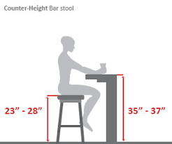 Desk Height Calculator by Bar Stools Buying Guide Hayneedle Com
