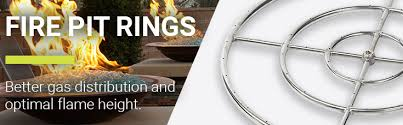 Firepit Rings Get Pit Ring Burners American Glass