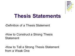 write a good thesis statement how to form a thesis statement in an essay article paper writers