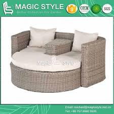 china rattan daybed wicker daybed balcony sunbed bench daybed