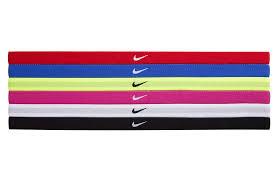 sport headband nike swoosh sport headbands 6pk one size fits most