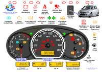 toyota corolla dashboard warning lights downloads for driving instructors students