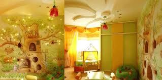 wandgestaltung kindergarten kreative kinderzimmer deko wohndesign tolles moderne dekoration
