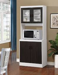 Tall Kitchen Cabinet Amazon Com Home Source 157brd Tall Kitchen Cabinet With Solid