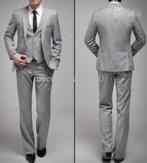 light gray suits for sale 2018 light grey buisness suits fashion jacket mens trousers men s