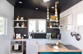 Tiny House Kitchens by A 400 Square Foot House In Austin Packed With Big Ideas Small