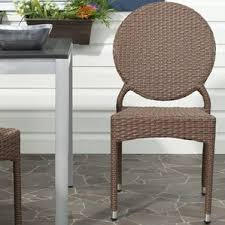 Stackable Patio Furniture Set Safavieh Outdoor Furniture Wayfair