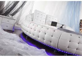 Light Sofa Bed 6821 With Crystal And Led Light Sofa Beds Dubai Buy Sofa