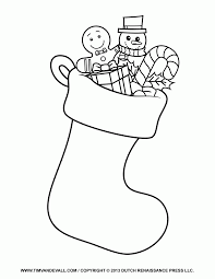 christmas stocking coloring pages pattern 25 best ideas about