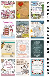 best coloring books for foodies